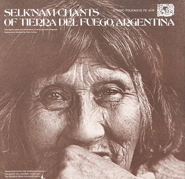 Selk'nam Chants of Tierra del Fuego, Argentina album cover